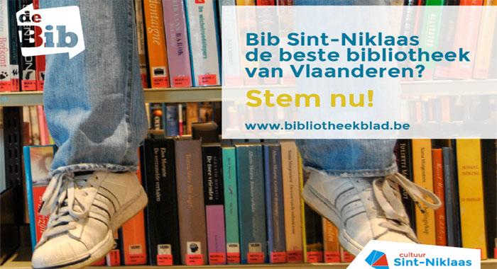 Stem de sint niklase bib tot beste bibliotheek waaskrant - Tot zijn bibliotheek ...